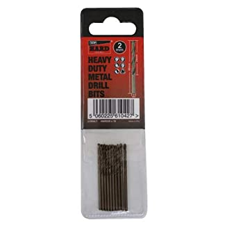 TTP-HARD-metal-drill-bits-2mm-Tube-of-10-bits-added-cobalt-for-drilling-harder-metals-stainless-steel-chrome-aluminium-cast-iron-long-life-easy-to-use-best-drill-bits-for-metal-heavy-duty-can-be-resha