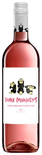 Thr3-Monkeys-Fresh-Fruity-Ros-Roswein-120-Vol-halbtrocken-Tempranillo-Three-Monkeys-Tr3-Amor-075l