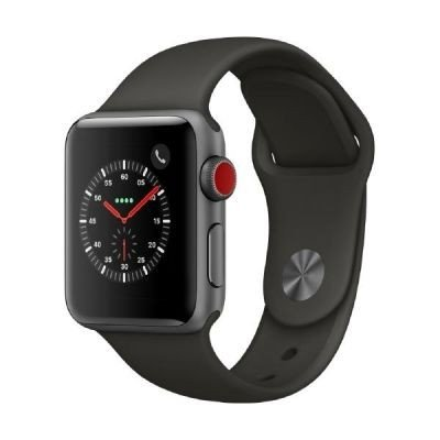 Apple-Watch-Series-3-GPS-Cellular-38-mm-Alu-space-grau-Sportarmband-grau