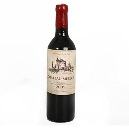 Chateau-Merlot-Wine-Bottle-Shaped-30cm-Novelty-Decorative-Wax-Table-Candle