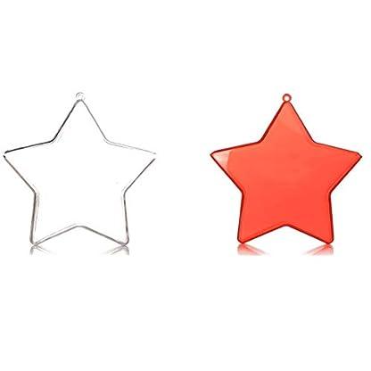 Christbaumkugeln-Acryl-Pentagramm-Kugel-Weihnachtsdekoration-Anhnger-Christbaumkugeln-zum-Selbermachen-befllbare-Kugeln-Kunststoff-5-Stck