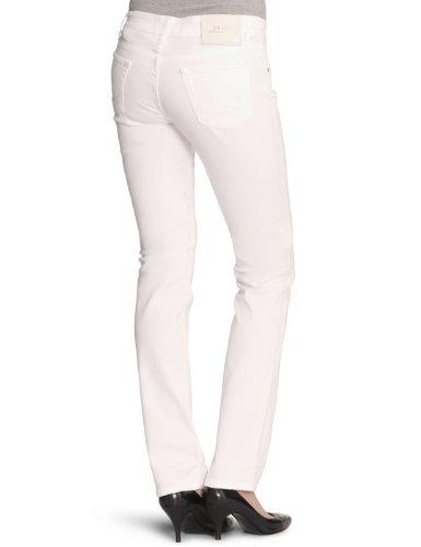 LTB Jeans Damen Jeans Normaler Bund 50045 / Aspen, Slim Fit (Röhre), Gr. 32/34, Weiß (white 100)