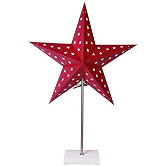 Star-StandleuchteStar-Material-MetallHolzPapier-Vierfarb-Karton-67-x-43-cm-rotwei-233-10