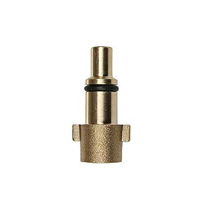SENRISE-Hochdruckreiniger-Kupplungsadapter-1-Stck-06-cm-Quick-Connect-Unterlegscheibenadapter-Schneeschaum-Lanze-Auto-Sprhpistole-Connector