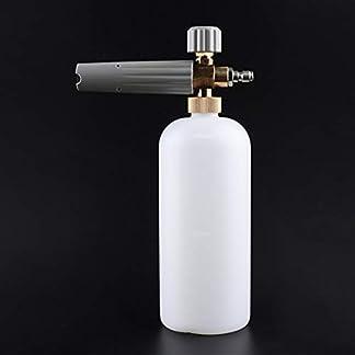 Autowaschpistole-Hochdruck-Schaumtopf-Alle-Kupfer-Schaum-Generator-Giekanne-Wasserpistole-Werkzeug-Pumpenreinigungszubehr-Grau