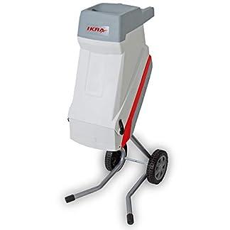 IKRA-Elektro-Gartenhcksler-Messerhcksler-IMH-2500-inkl-Fangsack-45l-2500W-langlebige-Wendemesser