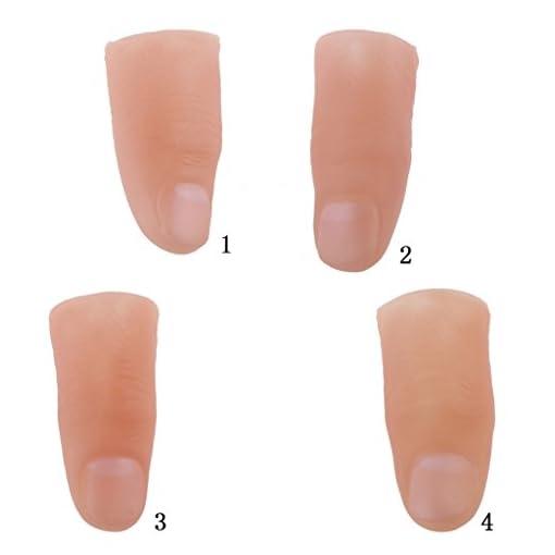 P-PRETTYIA-Finger-Zaubertrick-Requisiten-Soft-Thumb-TIPP-Nahaufnahme-Magic-Show-Prop-Streich-Spielzeug