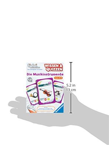 Ravensburger-tiptoi-Wissen-Quizzen-Die-Musikinstrumente-00756-Erfahrt-allein-oder-gemeinsam-spannende-Informationen-ber-Musikinstrumente