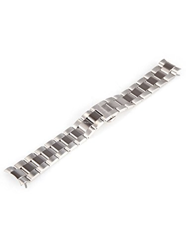 Alienwork-IK-Armband-Edelstahl-Armband-Metallarmband-Metallband-silber-Herren