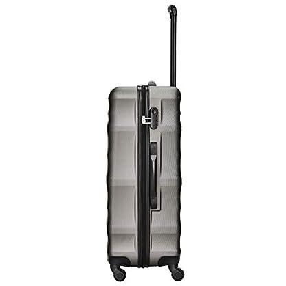 Packenger-Kofferset-Timber-3-teilig-M-L-XL-4-Rollen-Koffer-mit-Zahlenschloss-Hartschalenkoffer-ABS-robuster-Trolley-Reisekoffer