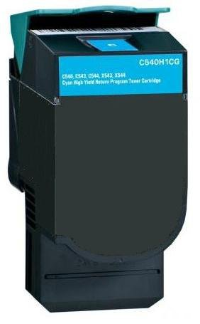 4X-Eurotone-Toner-Ersatz-C-540-fr-Lexmark-Optra-ersetzt-C540-ersetzt
