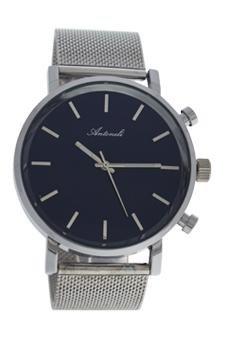 Antoneli-Unisex-Analog-Quarz-Uhr-mit-Edelstahl-Armband-AG6182-08