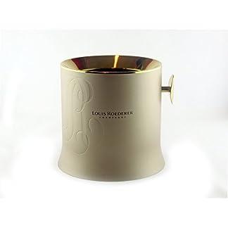 LOUIS-ROEDERER-Champagnerkhler-klein-aus-INOX-Stahl