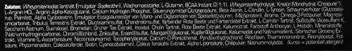 SRS Muscle – Mega Blast XL, 1.900 g, Red Berry | Complete All-in-one Master Stack | ersetzt über 20 Einzelprodukte | entwickelt und hergestellt in Deutschland mit Premium-Rohstoffen