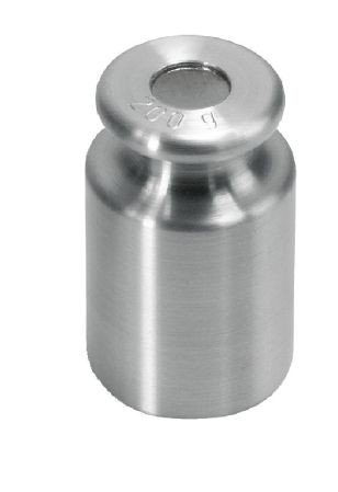 Kern 347-01 Einzelgewicht, Knopfform, Messing feingedreht, 1 Stück
