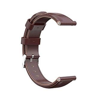 7Lucky-Uhrenarmband-22mm-Leder-Armband-Kompatibel-fr-Xiaomi-Amazfit-Pace-WatchMode-Leder-Wristband-Ersatzband-fr-Xiaomi-Amazfit-Pace