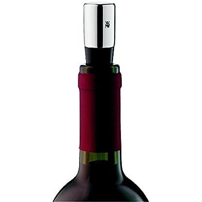 WMF-Weinflaschenverschluss-Vino-Metallguss-verchromt-splmaschinengeeignet