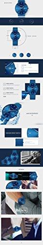 Uhren-Herren-Fashion-Lssig-Schlank-Armbanduhr-Analog-Datum-Wasserdicht-Quarz-Uhren