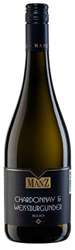 Manz-Chardonnay-Weiburgunder-trocken-QbA-2016-trocken-075-L-Flaschen