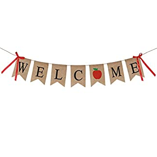 KAKOO-Vintage-Welcome-Home-Banner-Rustikal-Leinen-Buchstaben-Wimpel-Girlande-28-M-fr-Familie-Party-Dekoration-Photo-Booth-Props-Foto-Requisiten