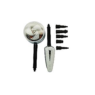 Powerwasher-80141-Universal-Hochdruckreiniger-Dual-Brush-Kit-passend-fr-die-meisten-Elektro-und-Gas-Hochdruckreiniger