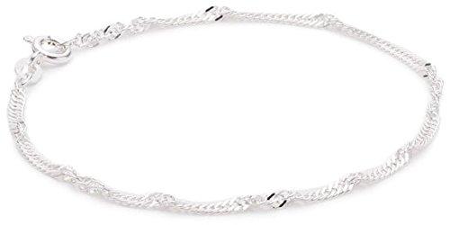 Pasionista Armband aus Silber 925 Sterling inkl. Geschenketui Damenarmband Silberarmband made in germany Größe 17 cm 19 cm 21 cm Damen