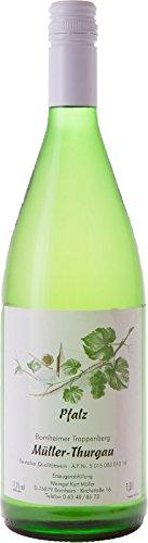 Pflzer-Weiwein-Mller-Thurgau-halbtrocken-1-x-1-L-Flasche-direkt-vom-Winzer
