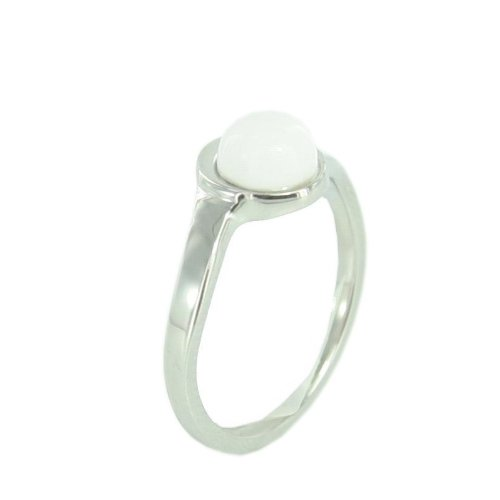 Skagen Designs UK Süßwasser-Ring Edelstahl Perlmutt JRSW022S