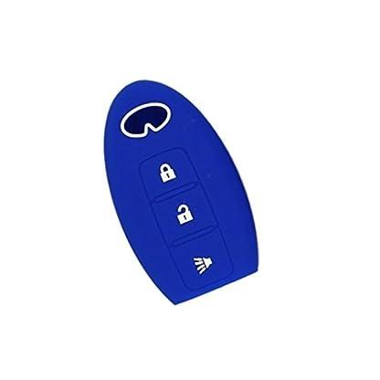Baoblaze-Autoschlssel-Gehuse-aus-Silikon-mit-3-Tasten-Design-Geruchlos-fr-meistens-Autos