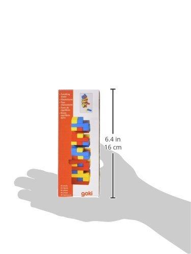 Goki-HS973-Geschicklichkeitsspiel-Wackelturm