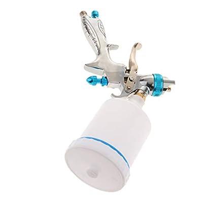 P-Prettyia-Hochdruck-Lackierpistole-mit-Topf-und-Dse-Leicht-Abnehmbar-und-Reinigung