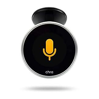 Chris-Sprachassistent-mit-Gestensteuerung-fr-jeden-PKW-zum-Nachrsten-Navigation-Whatsapp-SMS-Telefonieren-Musik-hren-Fr-iPhone-Android