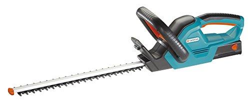 GARDENA-Set-Akku-Heckenschere-ComfortCut-Li-1860-Heckenschneider-mit-ergonomischem-Griff-und-Anschlagschutz-60-cm-Messerlnge-mit-Przisionsmesser-inkl-Li-Ion-Akku-und-Ladegert