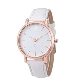Doyime-Damen-Armbanduhr-Elegant-Uhr-Modisch-Design-Rmische-Ziffern-Leder-analoge-Quarzuhr-Armbanduhr