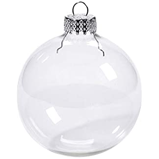 Youseexmas-Weihnachtskugel-Christbaumkugeln-Glaskugel-Hngend-Durchmesser-10cm-4stk-MEHRWEG