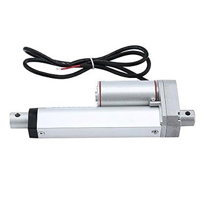Meganolga-Anschlag-Elektrische-Stostange-100MM-DC-Stostangen-Motor-mit-Hochleistungs-Linearantriebs-Klammer-fr-industrielles-landwirtschaftliche-Maschinerie-Bau