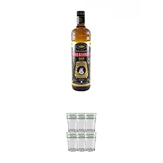 Velho-Barreiro-Gold-Cachaca-10-Liter-Velho-Barreiro-Caipirinha-Glas-6-Stck