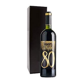 Wein-Geschenk-Happy-Birthday-80-Geburtstag-mit-Rotwein