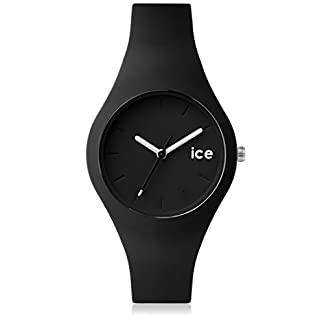 Ice-Watch-ICE-ola-Black-Schwarze-Damenuhr-mit-Silikonarmband