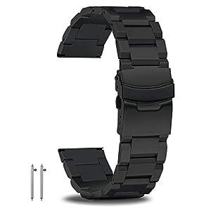 18mm-20mm-22mm-24mm-Schnellwechsel-Uhrenarmbnder-Edelstahl-Herrenuhrenarmband-Premium-Metallarmbnder-fr-Herren-Groes-Metallarmband-mit-doppelter-sicherer-Faltschliee