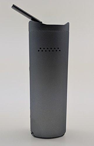 Vaporizer Xmax Starry V2 – nebelgrau – Metall Gehäuse und Keramik Mundstück – premium Verdampfer mit wechselbarer 2600 mAh Batterie – Vape Bong für Weed, Kräuter, Wachse und Öle