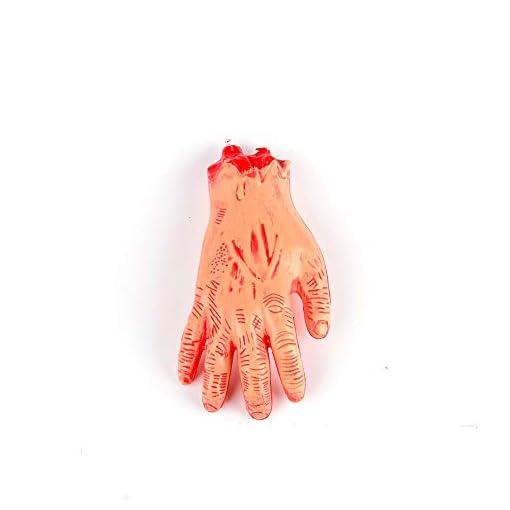 Xiton-Horror-Bloody-Realistisch-Fake-Abgetrennter-Arm-Gebrochene-Hand-Beine-Krperteile-Streich-Trick-Aprilscherz-Halloween-Party-Requisiten-Gebrochener-Arm-1-PC