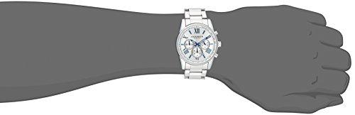 Akribos-XXIV-Herren-Enterprise-Chronograph-Quarz-Armbanduhr-mit-Alloy-Armband