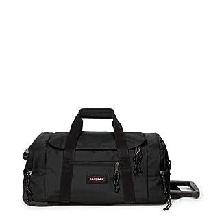 Eastpak-Leatherface-S-Reisetasche-55-cm-41-Liter-Black