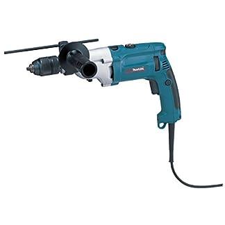 Makita-HP2071FJ-Schlagbohrmaschine-1010-W-mit-LED-Schwarz-Blau
