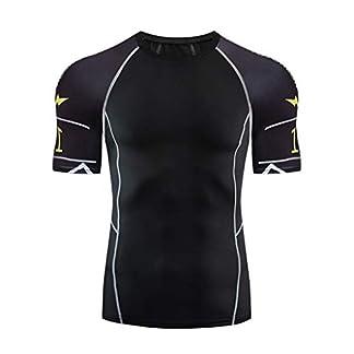 LILICAT-Herren-Kompressionsshirt-Atmungsaktiv-Fitness-Shirt-Schnell-Trocknend-Funktionsshirts-Lauf-Sport-Oberteile-Mnnlich-Sommer-Outdoor-Kurzarm-Sportswear-Tops