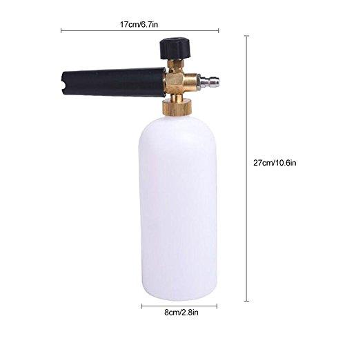 lennonsi-Schaumlanze-Schaumkanone-Schaumpistole-Schaumdse-mit-Aufsatz-Hochdruckspritzer-Waschen-Auto-Garten-Snow-Foam-Lance-Adapter-1-Liter