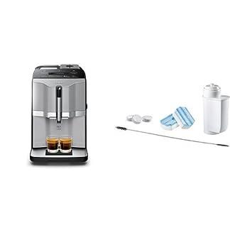 Siemens-TI303503DE-Kaffeevollautomat-EQ3-s300-Direktwahl-ber-beleuchtete-Sensorfelder-oneTouch-Function-Keramikmahlwerk-15-Bar-titansilber