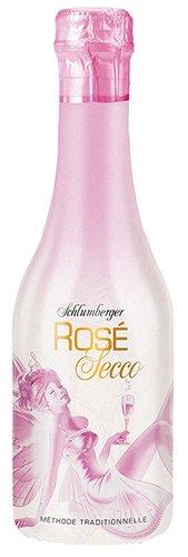 12x-Schlumberger-Ros-Secco-Mini-Babyflasche-200ml