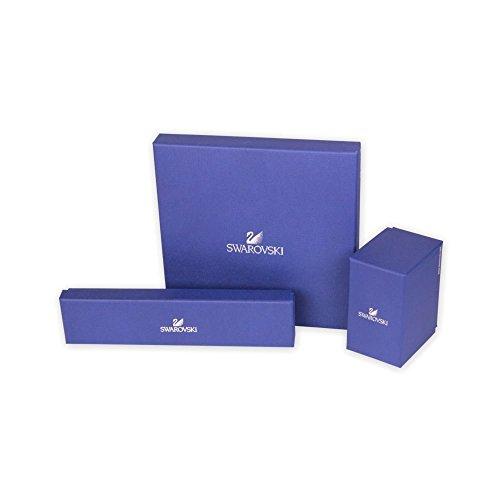 Swarovski Damen-Schmuckset Halskette + Ohrringe Kristall weiß – 5292395